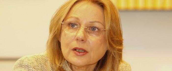 Wirtschaftssenatorin Yzer spricht mit den Berliner Diplomaten