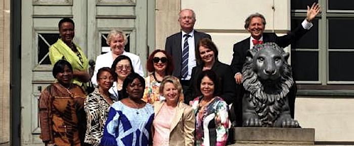 Botschafterinnen zu Besuch in Halle