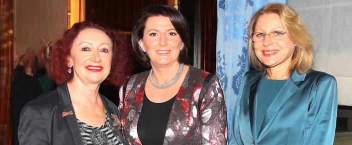 """""""Ladies Lunch"""" mit Atifete Jahjaga, Präsidentin des Kosovo"""