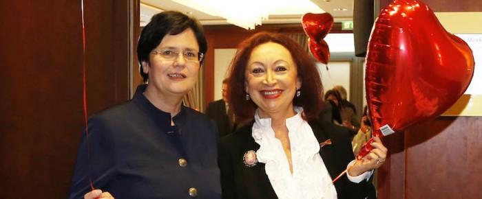 Valentinstag mit Ministerpräsidentin Lieberknecht