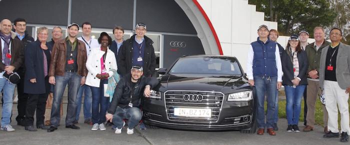 Fahrsicherheitstraining von Audi für Diplomaten
