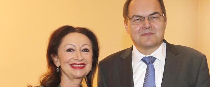 Bundesminister Christian Schmidt zu Gast beim Ambassadors Club
