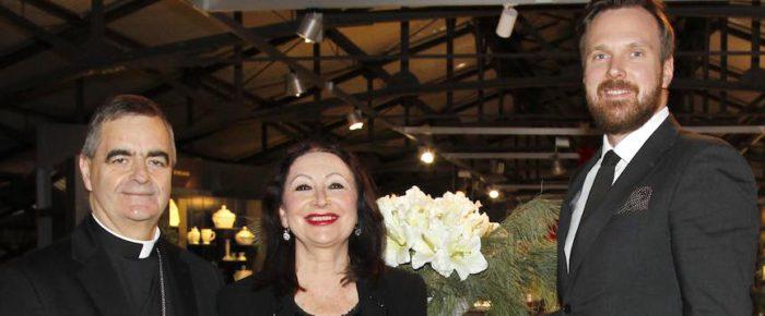 Botschafter in Weihnachtsstimmung bei KPM