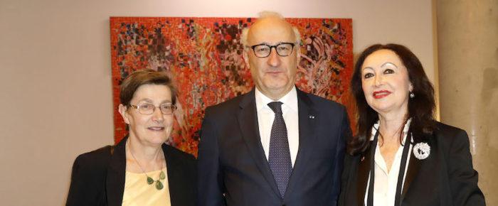 Konzert in der französischen Botschaft