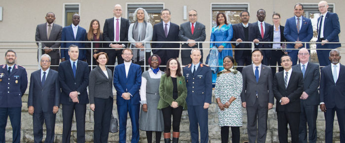 Ambassadors visit the Bundeswehr Joint Forces Operations Command