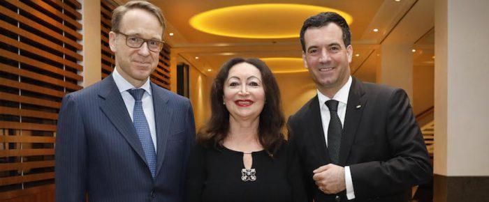 Chef der Deutschen Bundesbank begeistert Botschafter