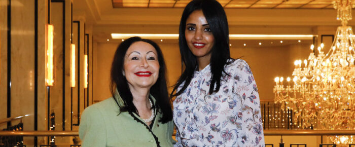"Sawsan Chebli opens ""Women in Politics and Diplomacy"""