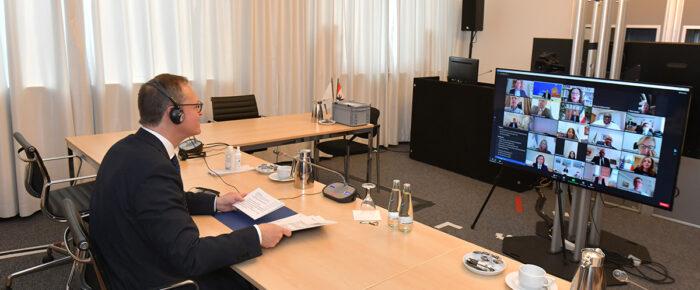 Erster digitaler Jour Fixe des Ambassadors Club mit Michael Müller